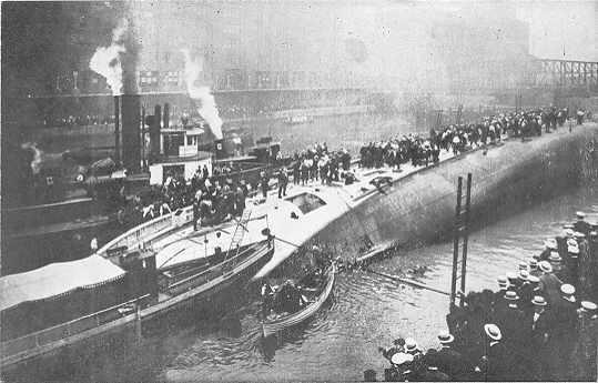 Eastland Disaster Chicago River Ship